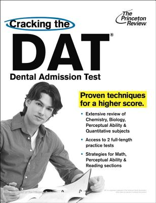 Cracking the DAT (Dental Admission Test) By Princeton Review (COR)